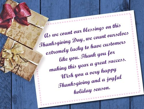 Thanksgiving Message For Customer Thanksgiving Messages Thanksgiving Text Messages Thanksgiving Card Messages
