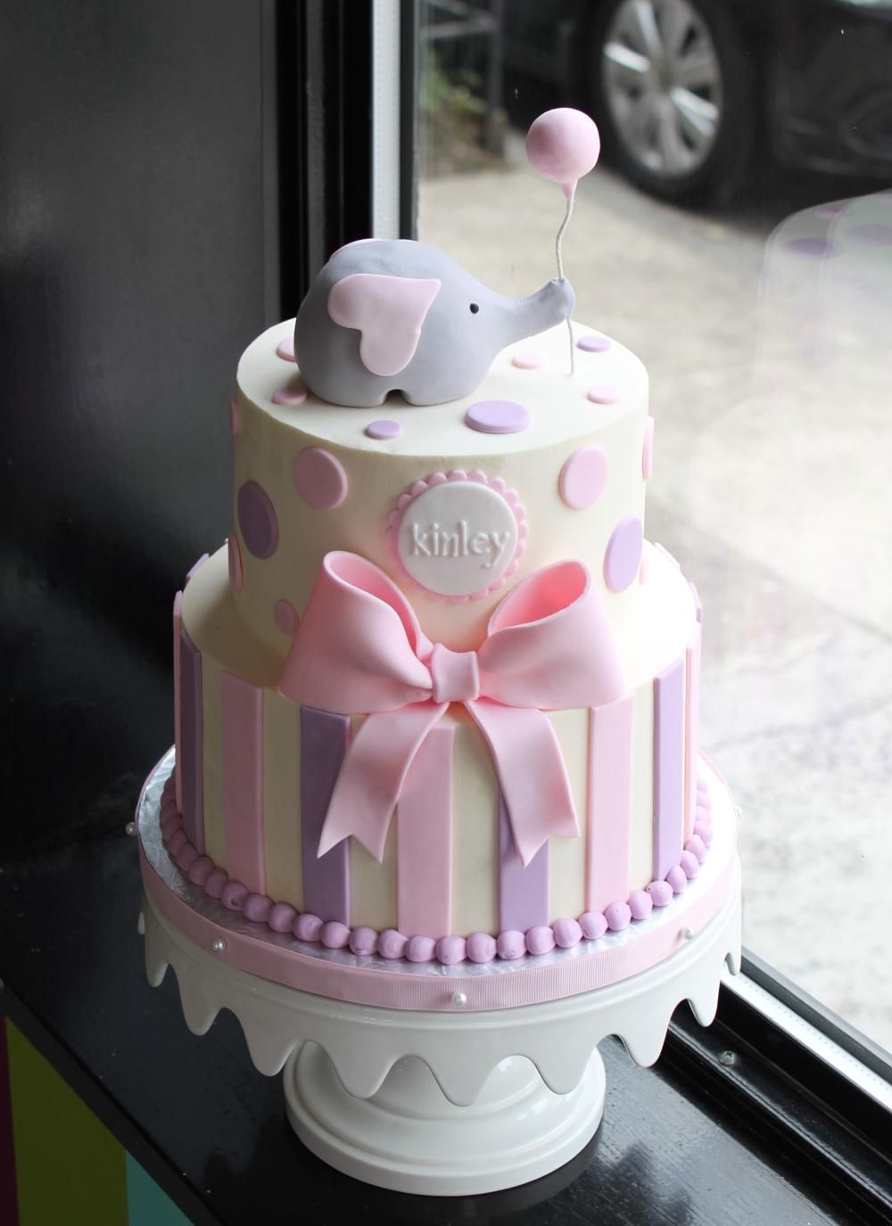 Elegant Cake · Sweet Elephant Party Cake More · Elephant Baby Shower ...
