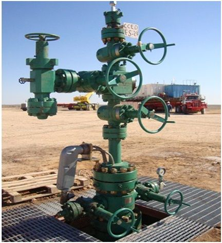 Christmas Tree Oil Well