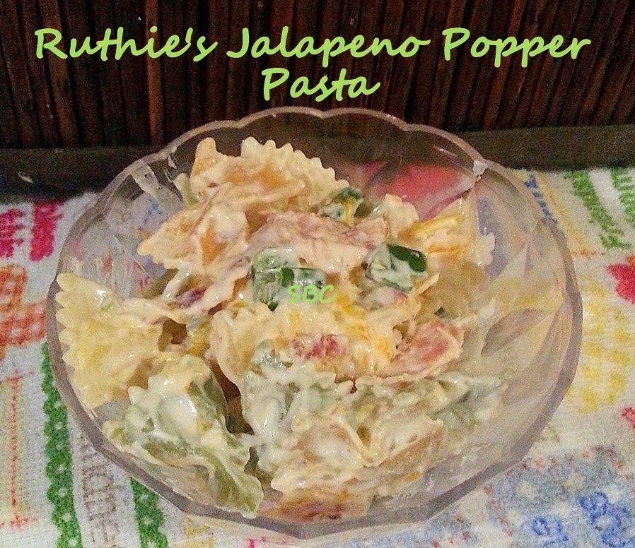 Ruthie's Jalapeno Popper Pasta