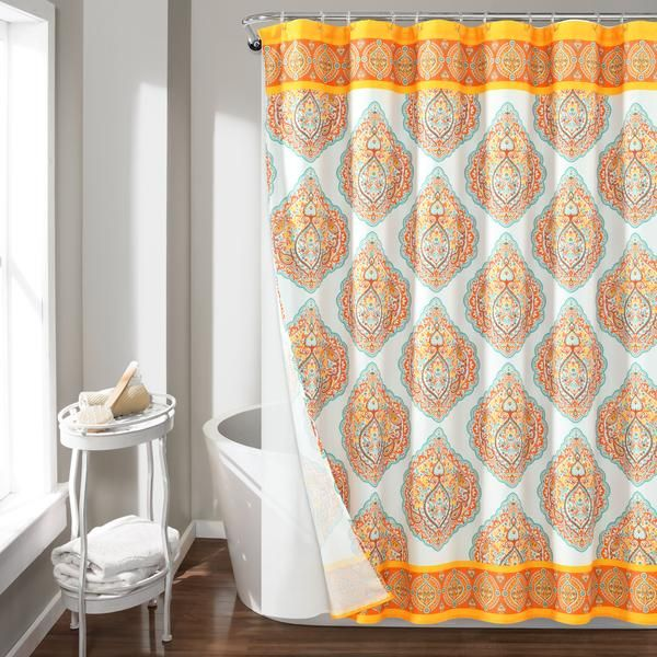Harley Shower Curtain 14 Piece Complete Set Shower Curtain Sets
