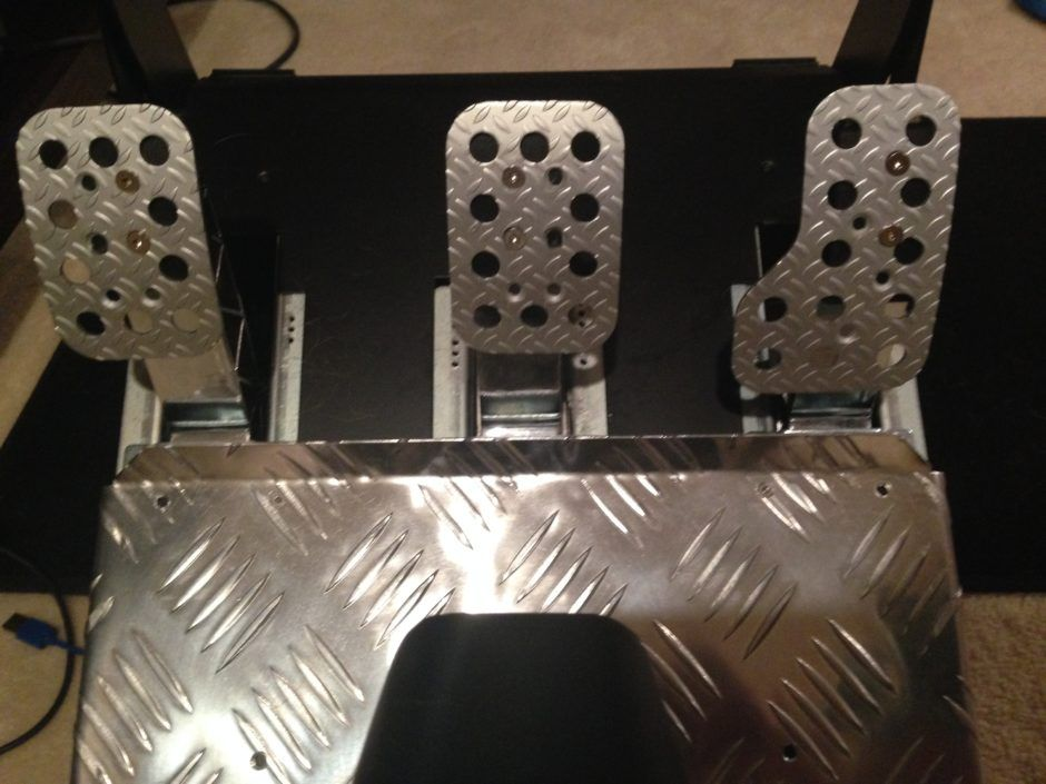 How to Mount After Market Pedal Plates to Thrustmaster T3PA