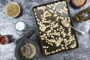 How to roast pumpkin seeds | Jamie Oliver