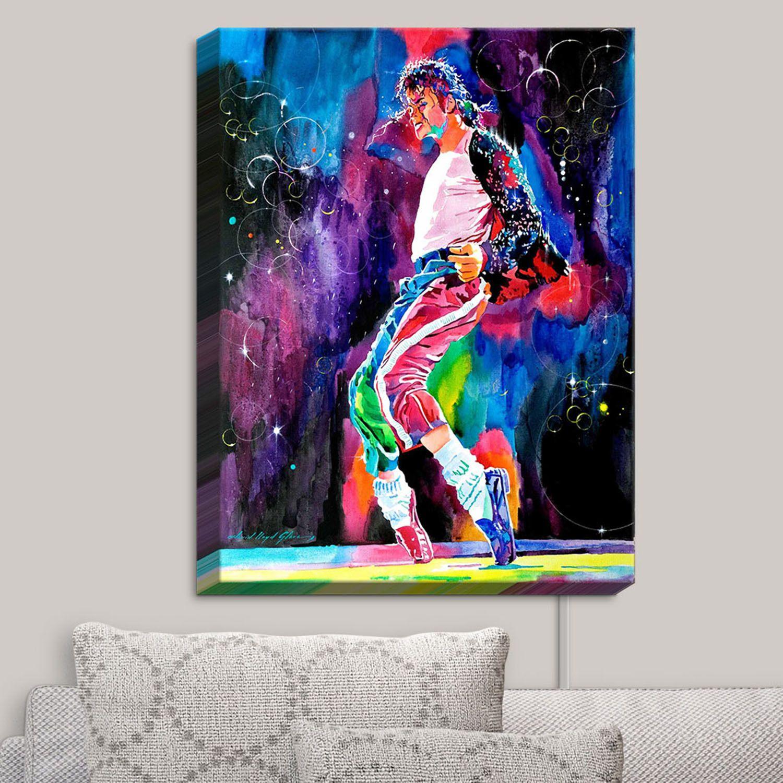 Illuminated Wall Art // David Lloyd Glover // Michael