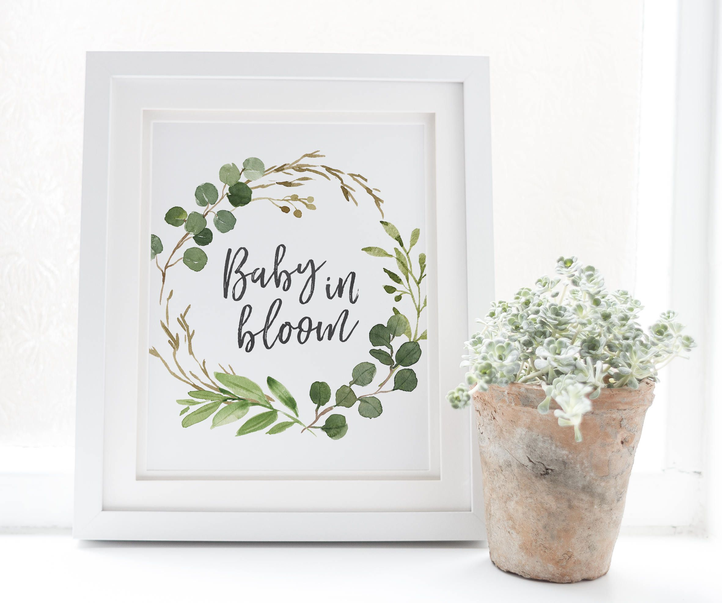 16++ Baby in bloom decorations inspirations