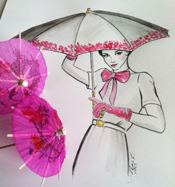My Parasol Girl...