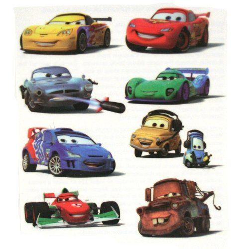 Disneys Cars Tattoo Sheets Package Of 4 By Unique 2 59 Featuring A Large Variety Of The Cars 2 Cast A Total Of 3 Car Tattoos Disney Cars Disney Cars Party