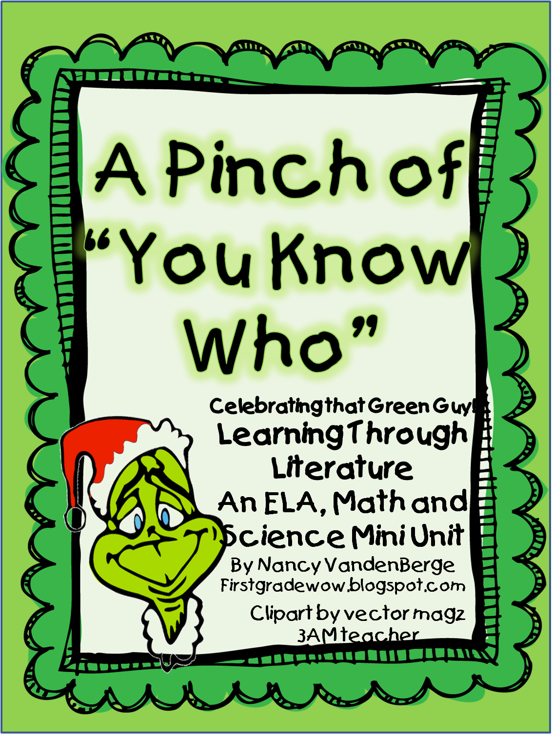 A Pinch Of You Know Who First Grade Wow