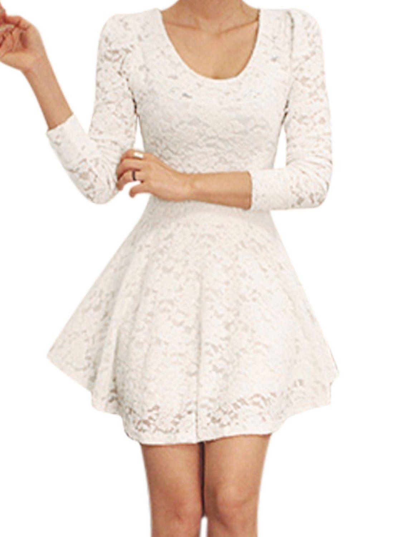 Lace Dress 15 Dress Available On Amazon Com White Lace Skater Dress Lace Skater Dress Lace Skater Dress Black [ 1500 x 1140 Pixel ]
