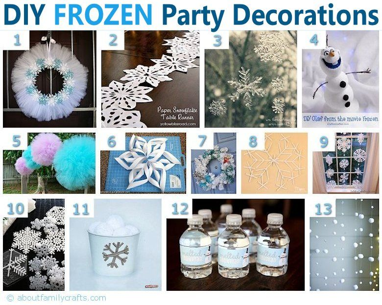 75 diy frozen birthday party ideas about family crafts frozen