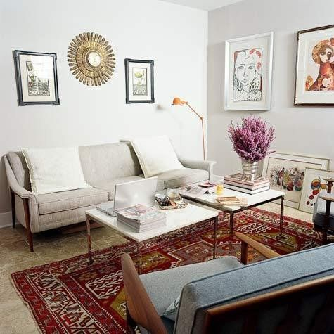 Inspiration Oriental Rugs In Modern Contexts Apartment Decor