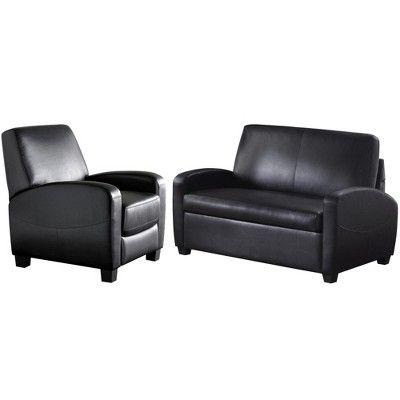 Dallas Sofa Sleeper Black Dorel Living Sleeper Sofa Leather Sofa Bed Faux Leather Sofa