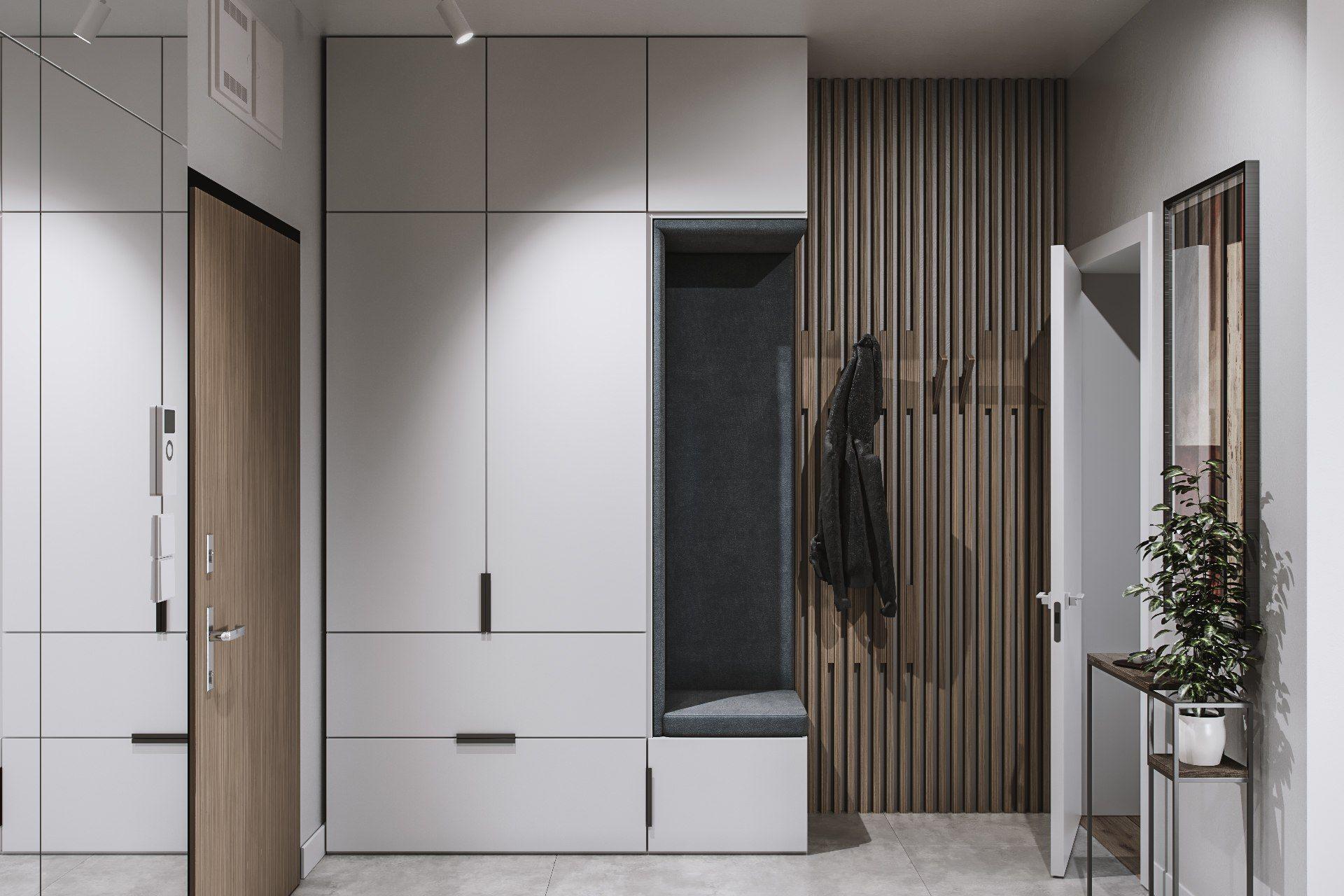 Шкафы в прихожую фото дизайнерские