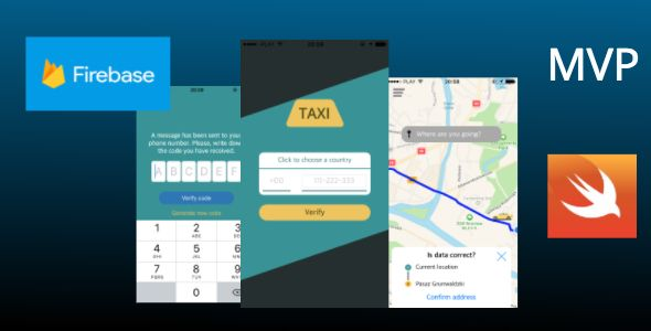 OrderTaxi - Ready Uber like client-side application to order