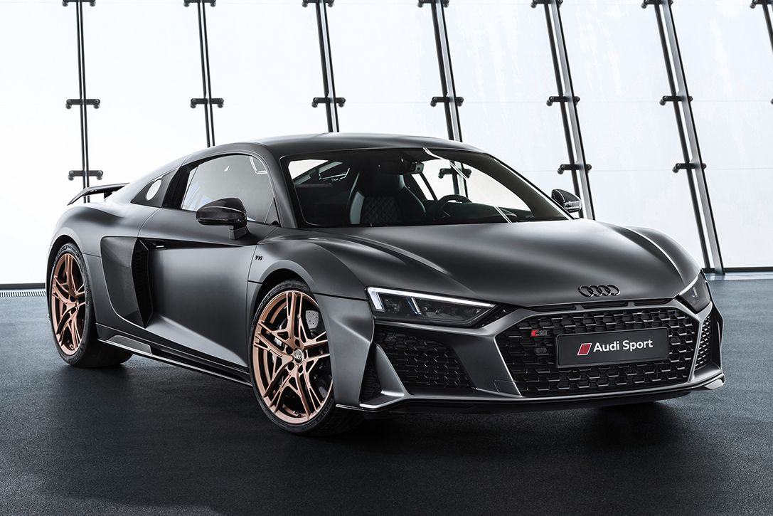 Audi Celebrates 10 Years Of V10s With A Special Edition 620 Hp R8 Supercar Audi R8 Audi R8 V10 Audi