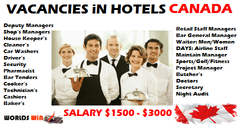 Multiple Vacancies At Hotels In Canada Montreal Hotel Days Hotel Hotel