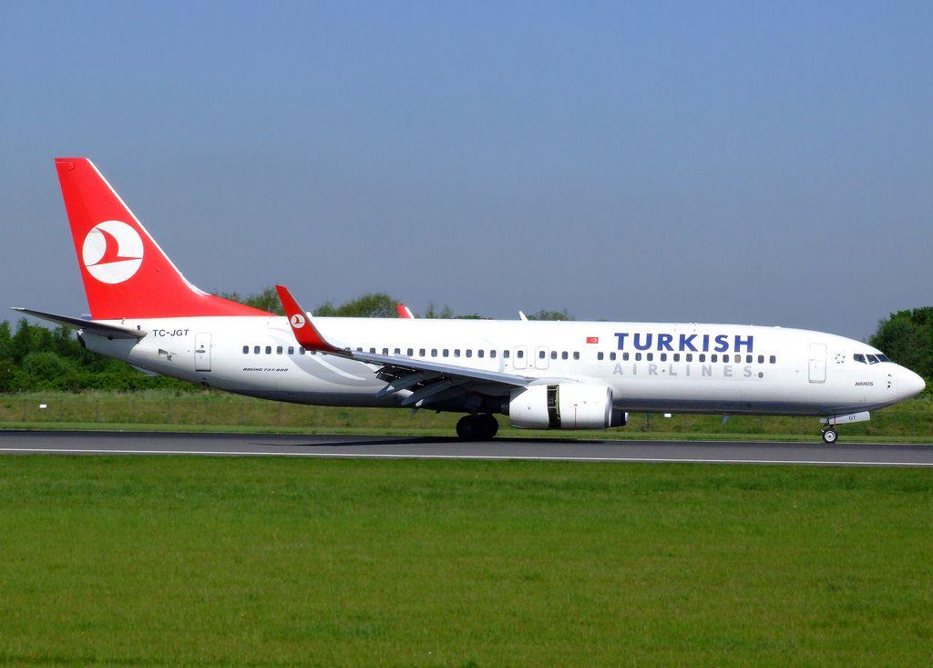 Boeing 737    TC-JGT
