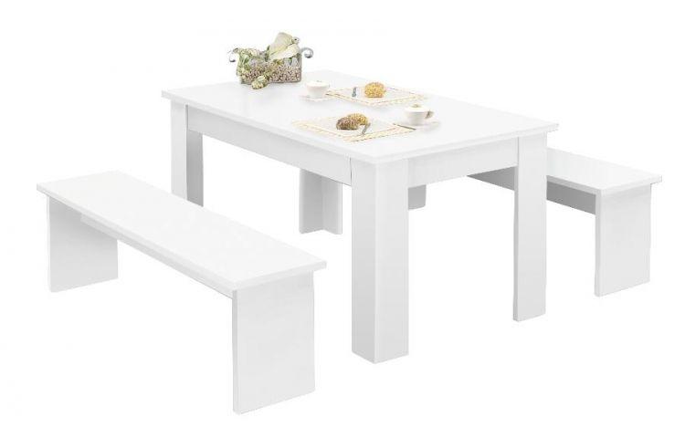 Tischgruppe München 160 weiß   Tische online bestellen ...