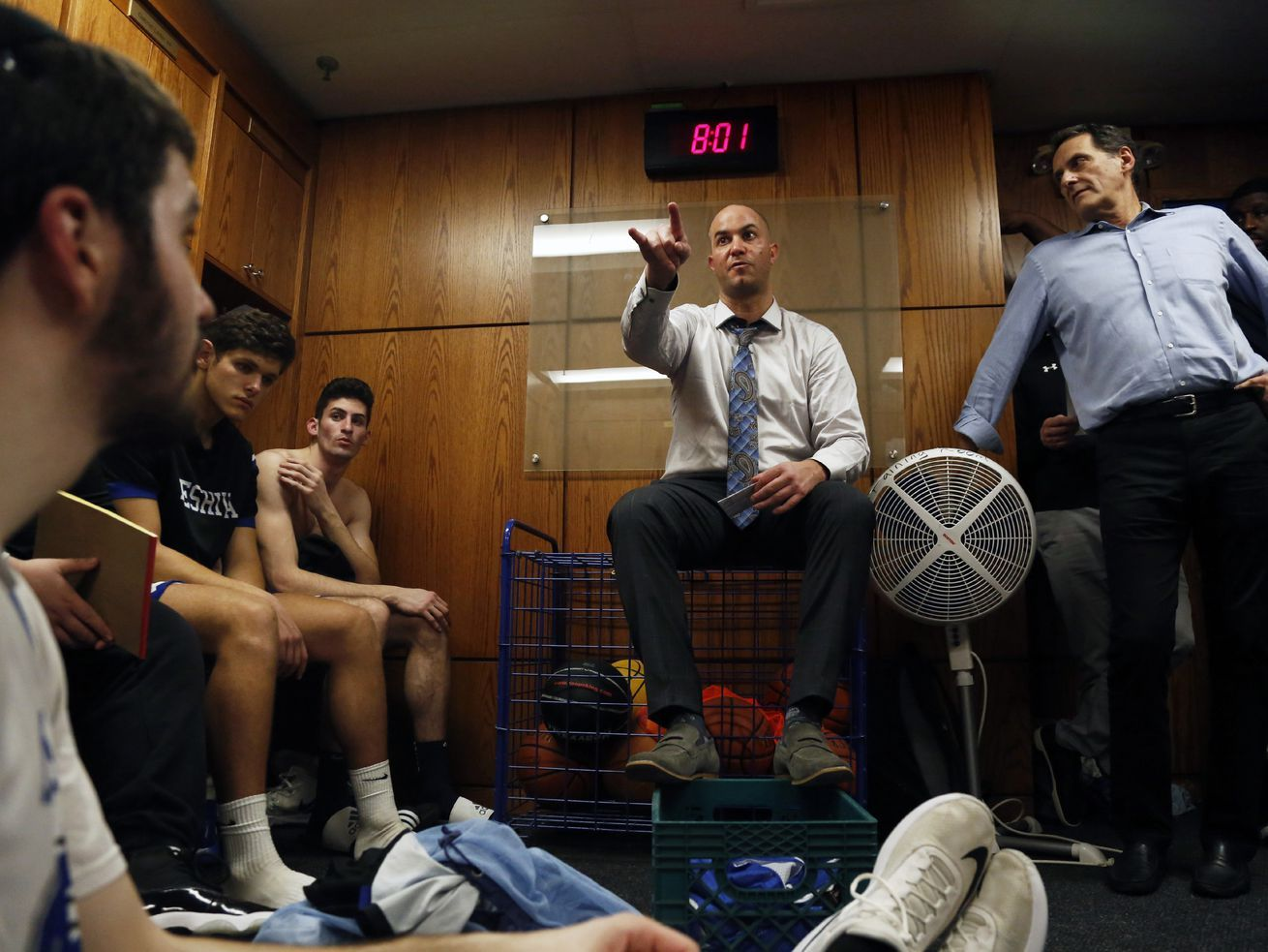 Standing for faith Can the basketball success of Yeshiva