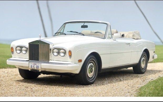 1991 Rolls Royce Corniche III Convertible Chassis SCAZDO2DOMCX30563