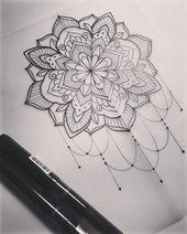 "Photo of Dominique Holmes on Instagram: ""Mandala.   #tattoo #tattooart #tattoodesign #m…"