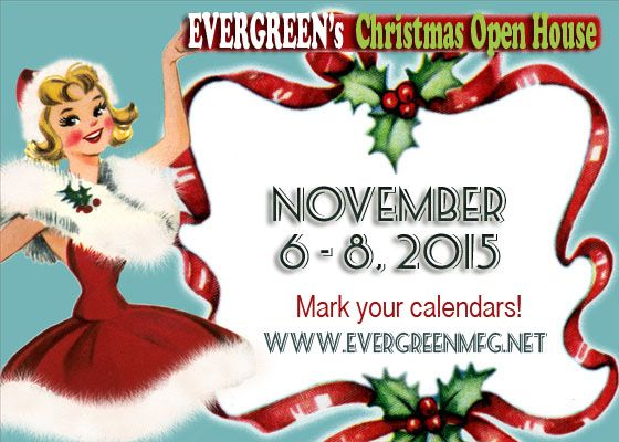 Evergreen Christmas Open House 2015 / Christmas wonderland / Lake of