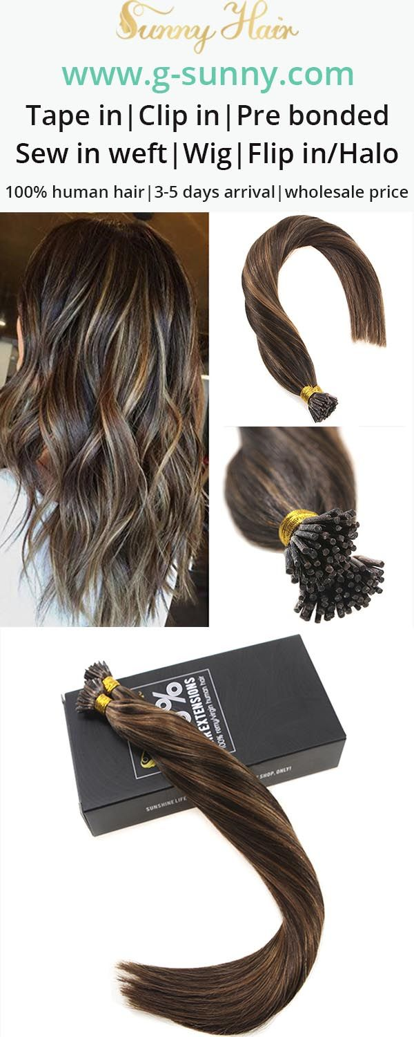 Sunny Hair 100 Real Micro Link Human Hair Extensions I Stick Tip