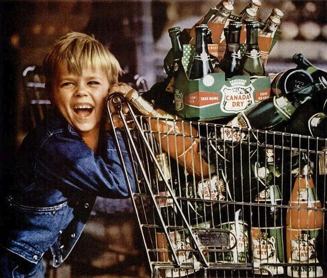 canada dry ginger ale 1957