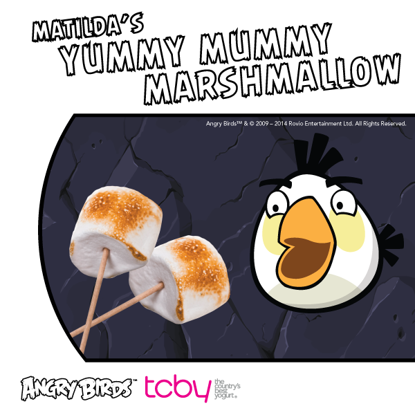 New Angry Birds flavor! Matilda's Yummy Mummy Marshmallow