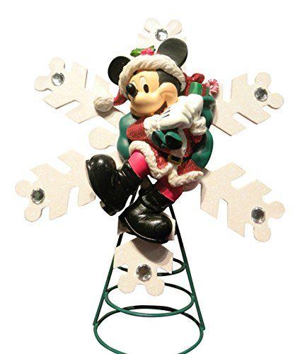 Disney Santa Mickey Mouse Christmas Tree Topper - Disney Santa Mickey Mouse Christmas Tree Topper Tree Toppers