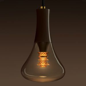 Plumen+designs+bulb+with+faceted+gold+shade+on+the+inside