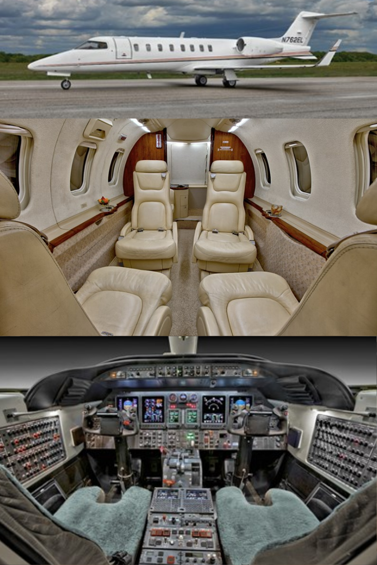 2000 Learjet 45 For Sale Airplane For Sale Private Jet Seat Storage