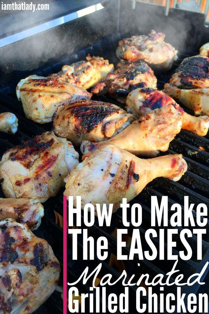 Marinated grilled chicken recipe grilled chicken