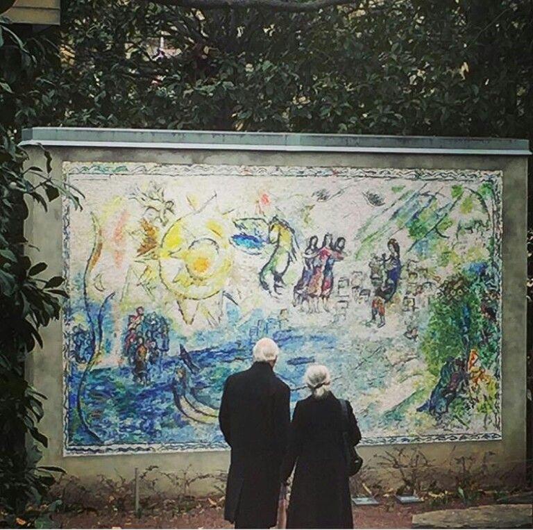 Chagall: Orphée (National Gallery Sculpture Garden