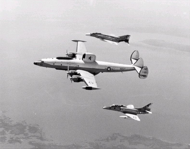 EC-121 with escort