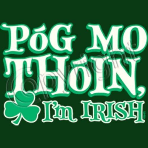 my ass irish kiss its