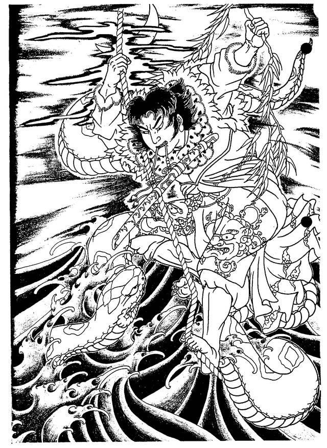 Horicho Japanese Tattoo Abstract Artwork Artwork