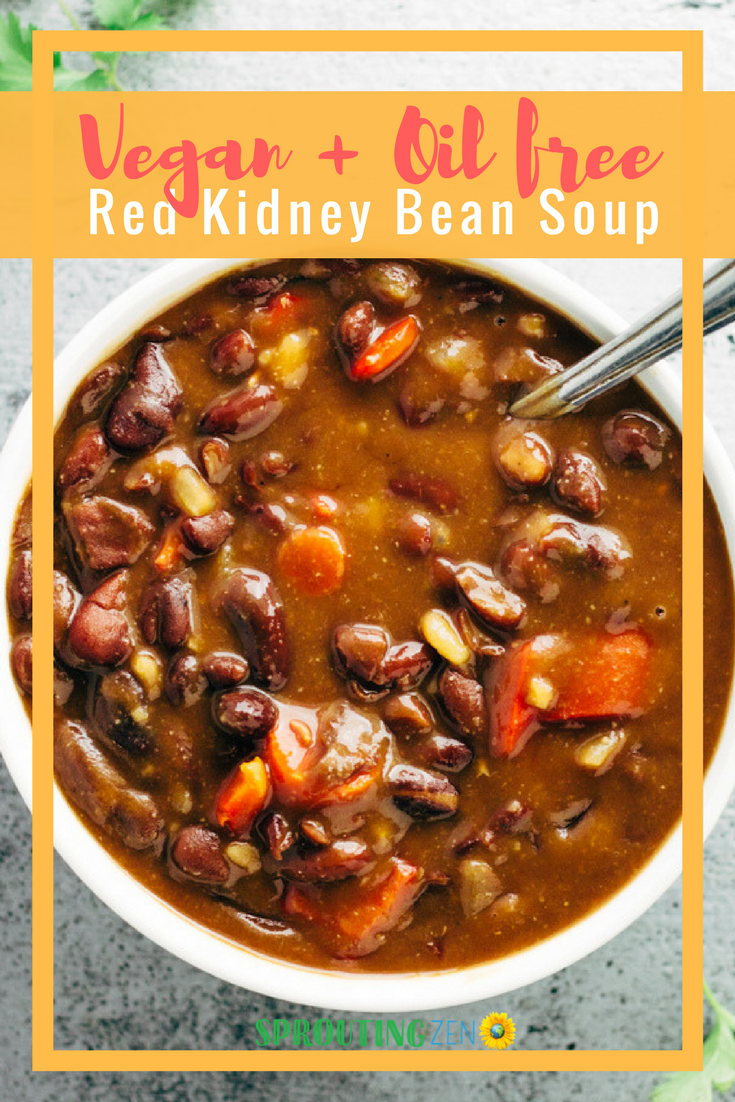 Vegan Red Kidney Bean Soup