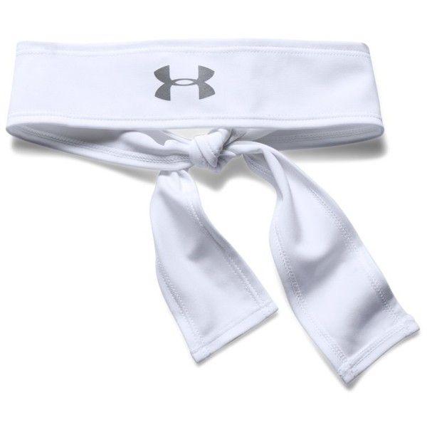81c08689cd Under Armour Women's UA Printed Armour Tie Headband ($15) ❤ liked ...