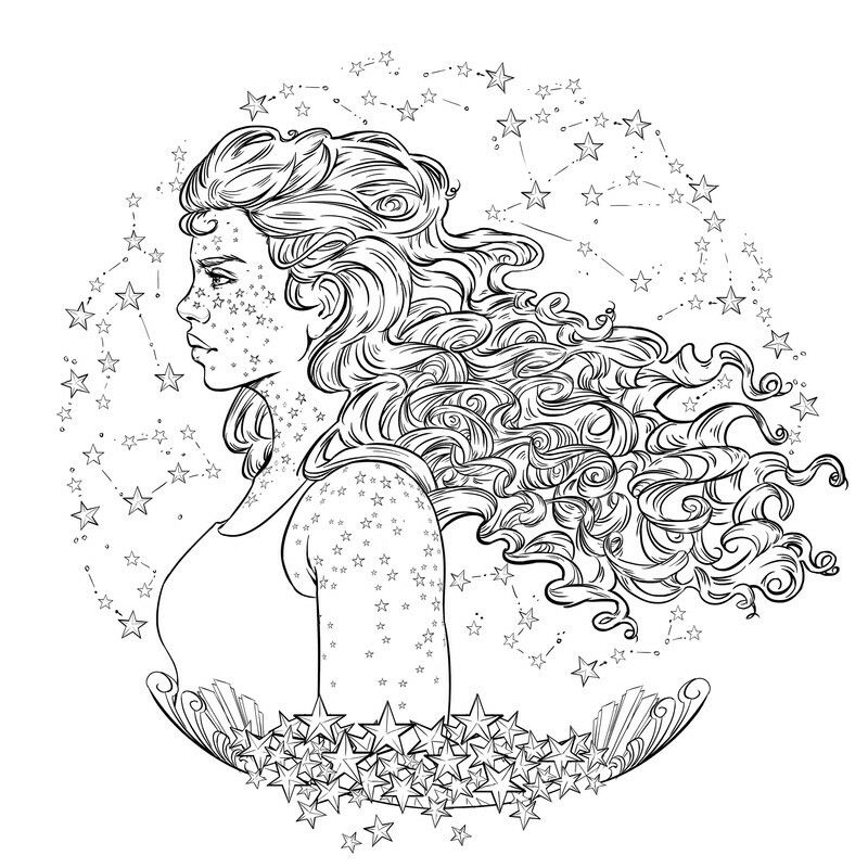 Scarlet Coloring Page From The Lunar Chronicles Coloring Book