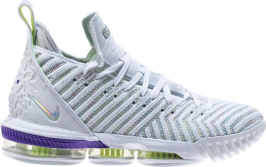 Nike LeBron 16 Buzz Lightyear White