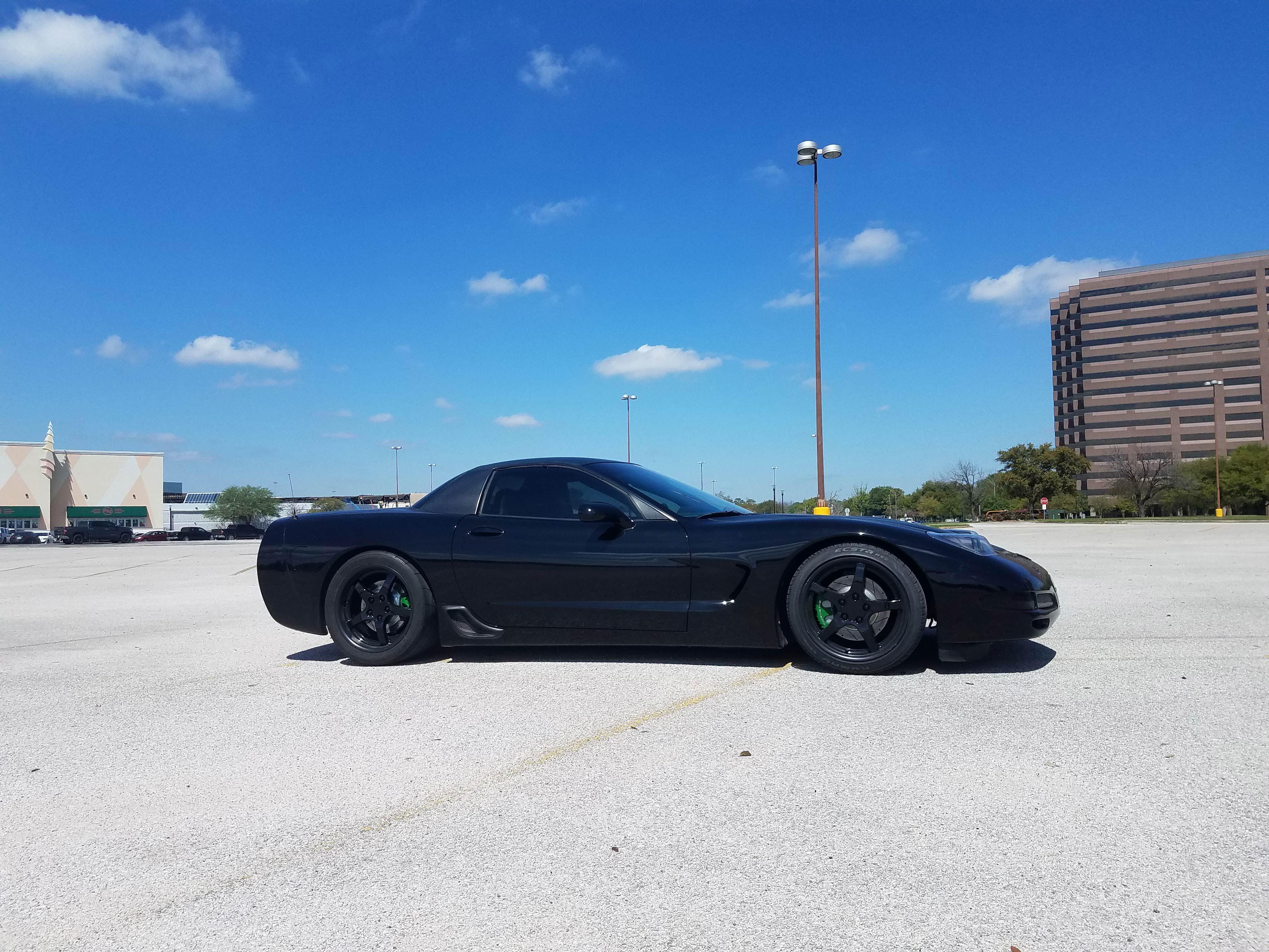 Fits Corvette C5 Rims Cv05 Dd Black Corvette Wheels 18x10 5 18x9 5 Staggered Black Corvette Corvette Corvette C5