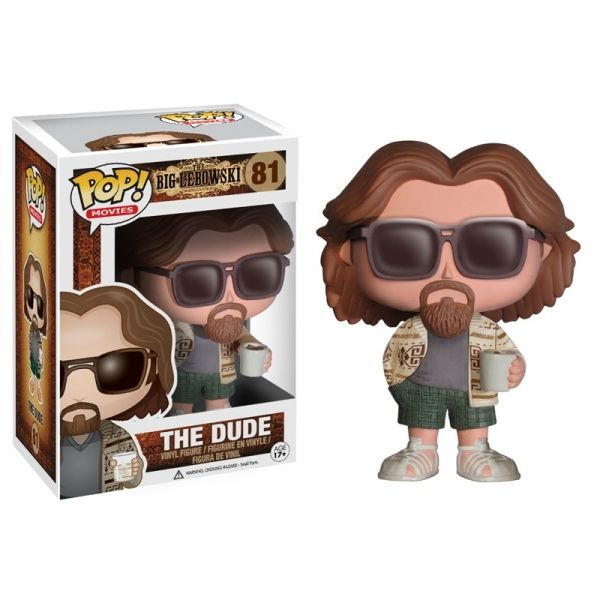 POP! Movies The Big Lebowski: The Dude Vinyl [Figure] by Funko