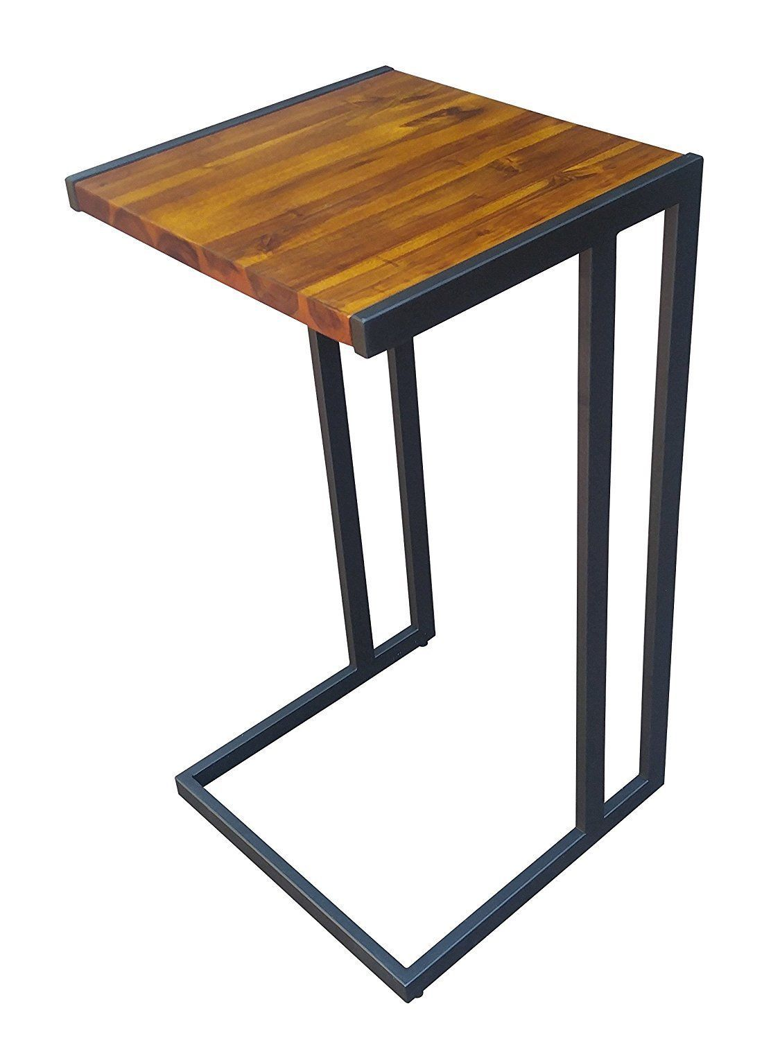Design 59 Inc Acacia Hardwood C Table End Table Laptop Stand