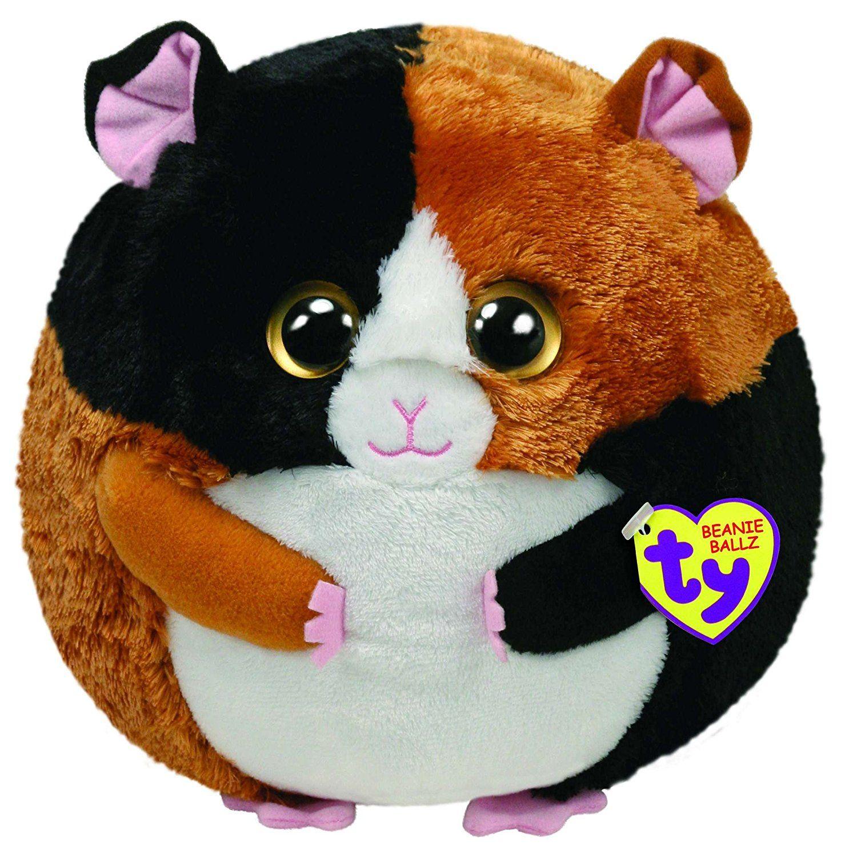 cd96f4bffbc Amazon.com  Ty Beanie Ballz Speedy The Guinea Pig Plush Soft Toy Medium   Toys   Games