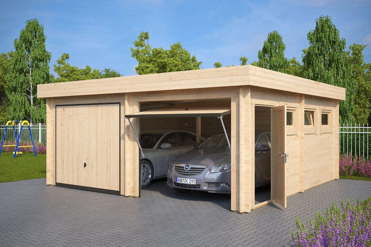 neue modern aussehende holzgaragen - Fantastisch Moderne Gartenhuser