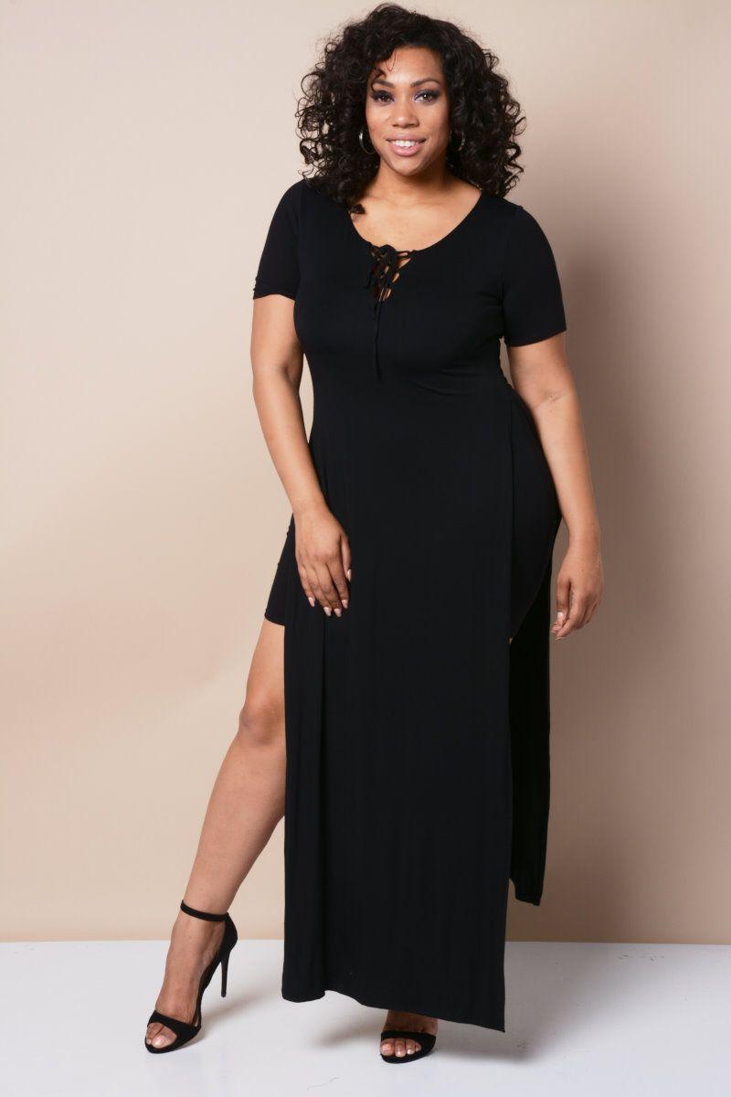 Shop Plus Size Bodycon, Midi, Skater, Maxi Dresses − GS-LOVE