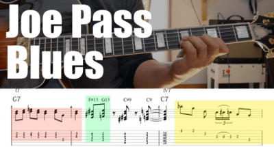 How to play pentatonic scales on Giant Steps Guitar