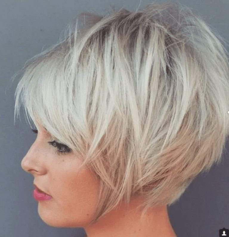 Frisuren halblang blond stufig