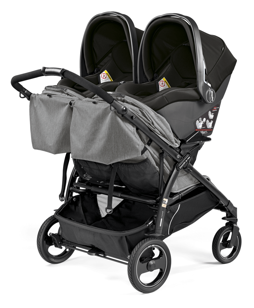 Twin Stroller And Carseat Double Stroller Book For Two Two Car Seats Parenting